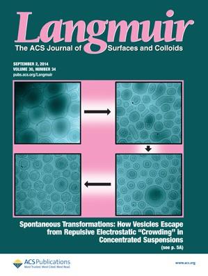 Langmuir: Volume 30, Issue 34