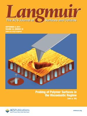 Langmuir: Volume 30, Issue 35