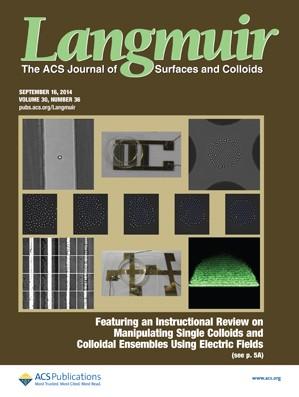 Langmuir: Volume 30, Issue 36