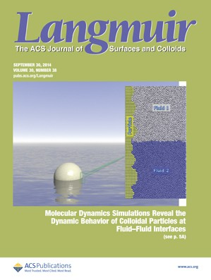 Langmuir: Volume 30, Issue 38