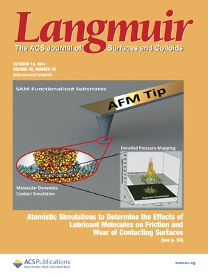 Langmuir: Volume 30, Issue 40
