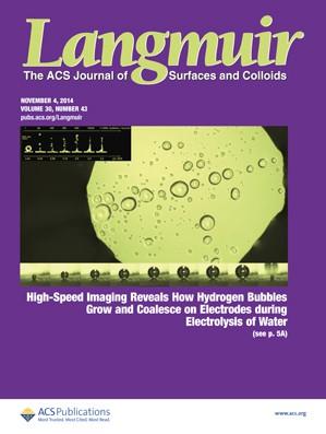 Langmuir: Volume 30, Issue 43