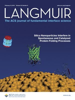 Langmuir: Volume 32, Issue 6