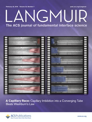 Langmuir: Volume 32, Issue 7