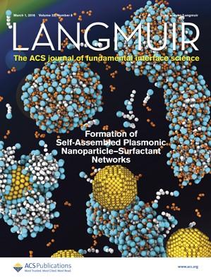 Langmuir: Volume 32, Issue 8