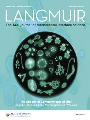 Langmuir: Volume 32, Issue 9