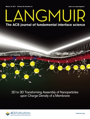 Langmuir: Volume 33, Issue 10
