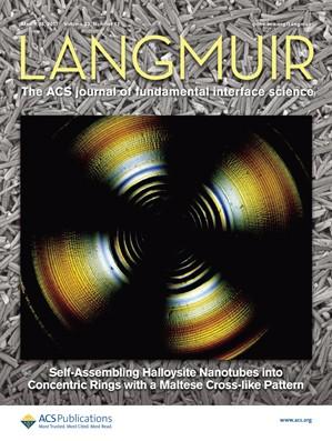 Langmuir: Volume 33, Issue 12