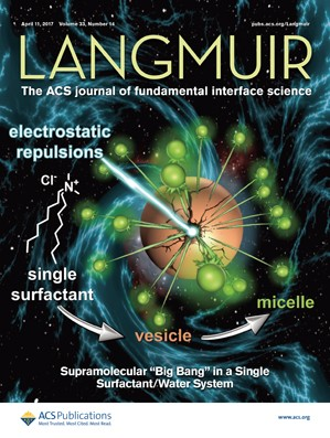 Langmuir: Volume 33, Issue 14