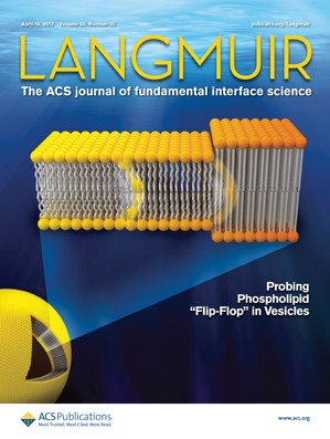 Langmuir: Volume 33, Issue 15