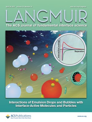 Langmuir: Volume 33, Issue 16