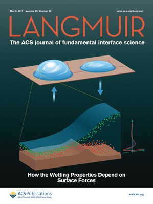 Langmuir: Volume 33, Issue 18