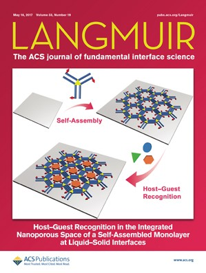 Langmuir: Volume 33, Issue 19