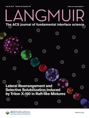 Langmuir: Volume 33, Issue 29