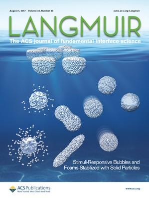Langmuir: Volume 33, Issue 30