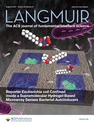 Langmuir: Volume 33, Issue 31