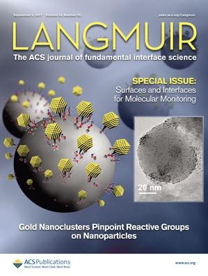 Langmuir: Volume 33, Issue 35