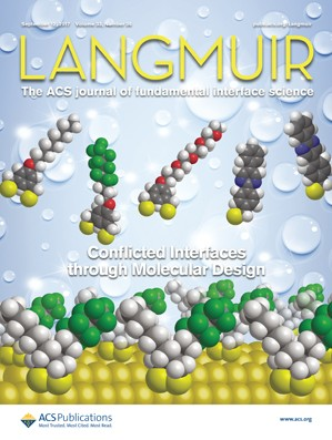 Langmuir: Volume 33, Issue 36