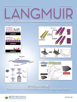 Langmuir: Volume 33, Issue 37