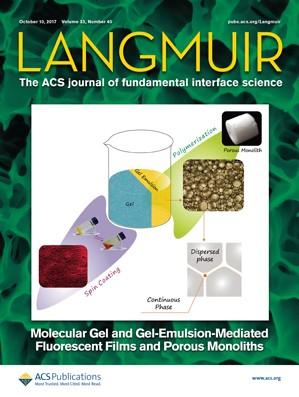 Langmuir: Volume 33, Issue 40