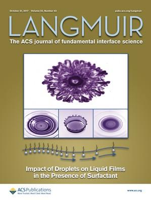 Langmuir: Volume 33, Issue 43