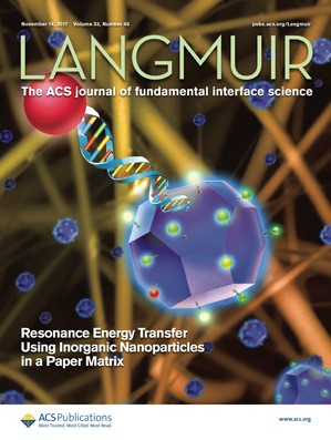 Langmuir: Volume 33, Issue 45