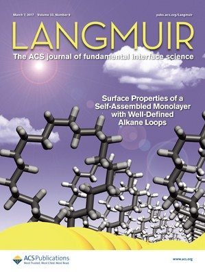 Langmuir: Volume 33, Issue 9