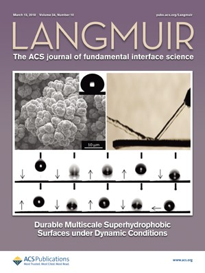 Langmuir: Volume 34, Issue 10