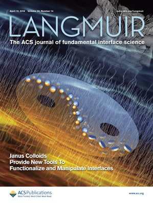 Langmuir: Volume 34, Issue 14
