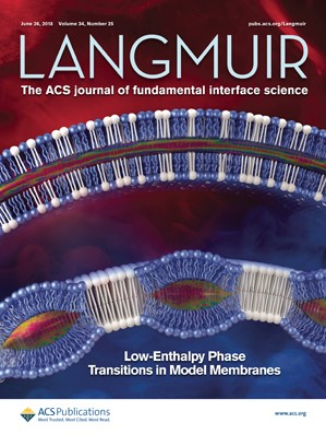 Langmuir: Volume 34, Issue 25