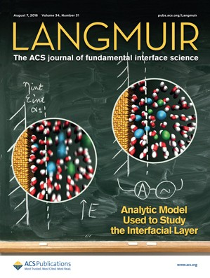 Langmuir: Volume 34, Issue 31