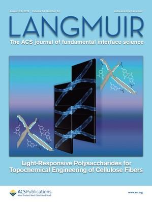 Langmuir: Volume 34, Issue 34