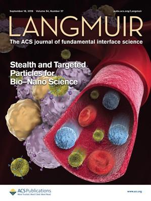 Langmuir: Volume 34, Issue 37