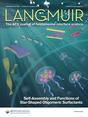 Langmuir: Volume 34, Issue 38