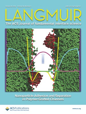 Langmuir: Volume 34, Issue 4