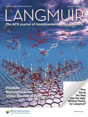 Langmuir: Volume 34, Issue 5