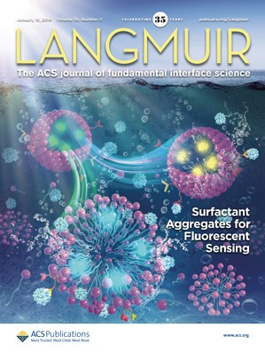 Langmuir: Volume 35, Issue 2