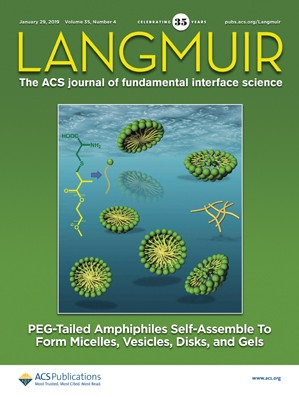 Langmuir: Volume 35, Issue 4
