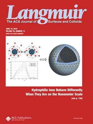 Langmuir: Volume 26, Issue 12