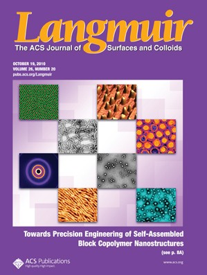 Langmuir: Volume 26, Issue 20