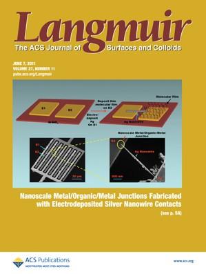 Langmuir: Volume 27, Issue 11