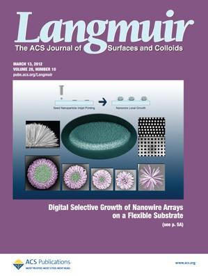 Langmuir: Volume 28, Issue 10