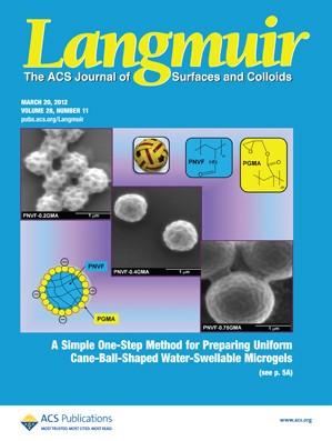 Langmuir: Volume 28, Issue 11