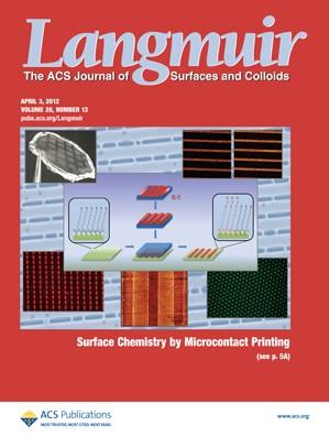 Langmuir: Volume 28, Issue 13