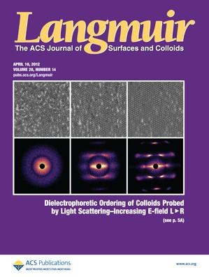 Langmuir: Volume 28, Issue 14