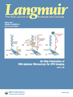 Langmuir: Volume 28, Issue 22