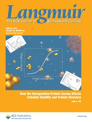 Langmuir: Volume 28, Issue 25