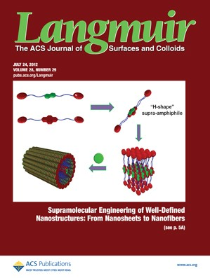 Langmuir: Volume 28, Issue 29