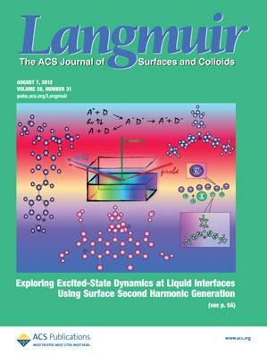 Langmuir: Volume 28, Issue 31