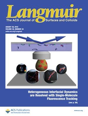 Langmuir: Volume 28, Issue 34